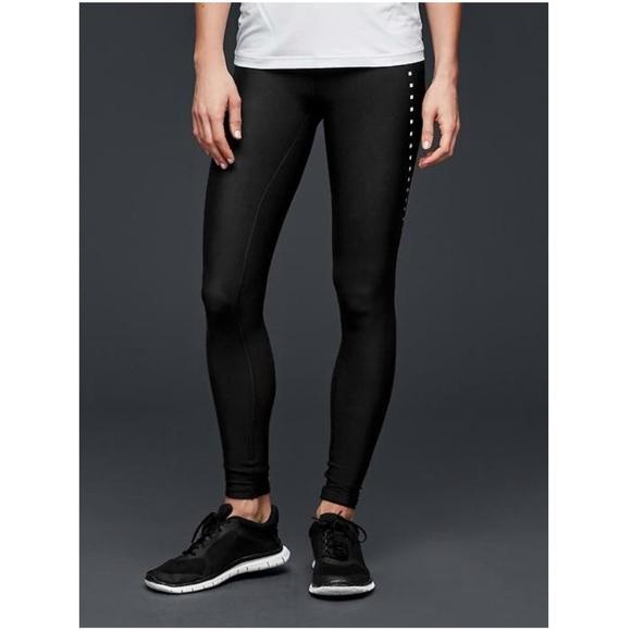 adf56a02e036c GAP Pants | Fit Black Laser Cut Leggings Small | Poshmark